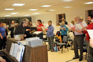ICC&CS Rehearsal @ St. Paul United Methodist Church | Ithaca | New York | United States